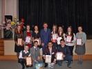 Учащиеся школы, участники Форума одаренных детей с мэром Овчинниковым А.И.